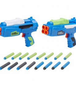 Adventure Force Af Clash Combat Dart Blaster Set