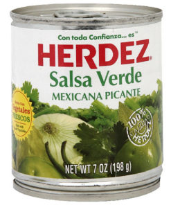 Herdez Verde Salsa, 7 oz (Pack of 12)