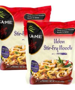 (2 Pack) KA-ME Udon Stir Fry Noodles 14.2 oz