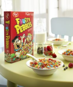 Post Fruity Pebbles Gluten Free Breakfast Cereal, 36 Oz Bag