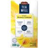 TeaWell Organic Honey Lemon Wellness Tea Bags, 16 Count Box