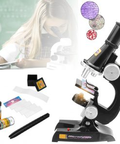 Biological Microscope Lab Science Study 100x 200x 450x Educational Kids Toy School Teaching Tool
