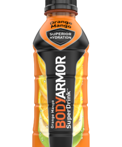 BODYARMOR Sports Drink, Orange Mango, 16 Fl. Oz., 12 count