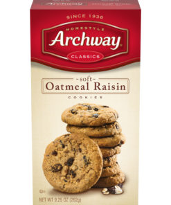Archway Cookies, Soft Oatmeal Raisin Classic Cookies, 9.25 Oz