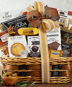Bon Appetit Gourmet Food Gift Basket