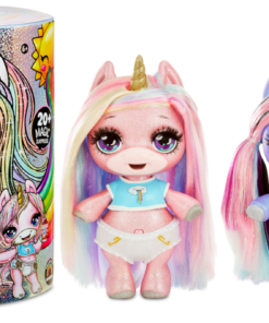 Poopsie Slime Surprise Glitter Unicorn: Stardust Sparkle or Blingy Beauty, 12″ Doll with 20+ Magical Surprises