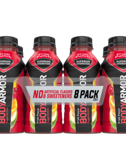 BODYARMOR Sports Drink, Fruit Punch, 12 Fl. Oz., 8 count
