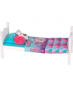 My Life As Stackable Doll Bed for 18″ Dolls, 6 Pieces