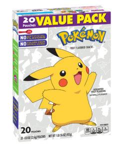 Nintendo Pokemon Fruit Snacks, 20 ct, 0.8 oz