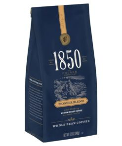 1850 Pioneer Blend, Medium Roast Coffee, Whole Bean, 12-Ounce