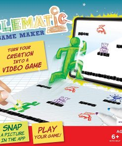 DoodleMatic Creative Art Video Game Maker for Kids, Award Winning Educational STEM / STEAM Toy, Ages 6+