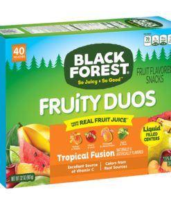 Black Forest Fruit Snacks, Fruity Duos, 40 ct, 0.8 oz