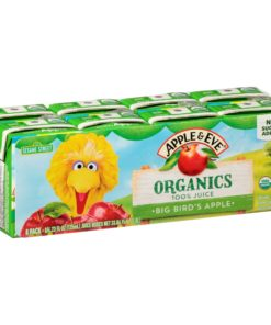 Apple & Eve® Organics Big Bird's Apple 100% Juice 8-4.23 fl. oz. Cartons