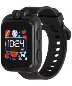 iTouch PlayZoom Kids Smartwatch for Boys – Black