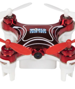 Nemo 2.4GHz 4.5-Channel Camera R/C Spy Drone, Red