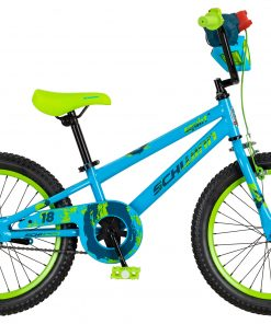 Schwinn Squirt Sidewalk Bike 18-inch wheels, blue / green
