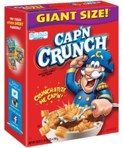 Cap'n Crunch Breakfast Cereal, Original, 28 oz Box