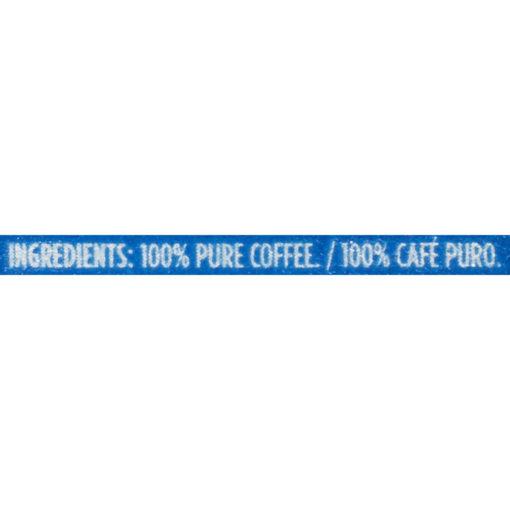 Maxwell House Dark French Roast Ground Coffee, Caffeinated, 25.6 oz Can