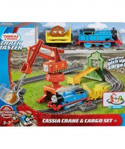 Thomas & Friends TrackMaster Cassia Crane &  Cargo Train Set