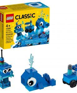 LEGO Classic Creative Blue Bricks 11006 Building Set for Imaginative Play (52 Pieces)