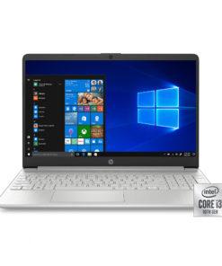 HP 15 Laptop, Intel Core i3-1005G1, 4GB SDRAM, 128GB SSD, Natural Silver, 15-dy1024wm