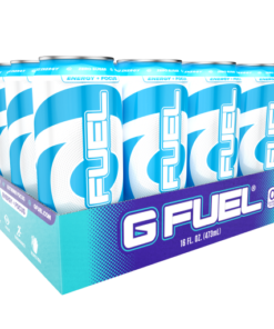 (12 Cans) G Fuel Blue Ice, Sugar Free Energy Drink, 16 fl oz