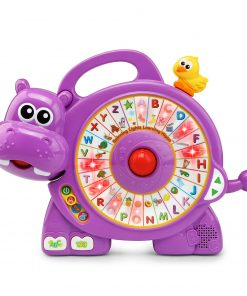 VTech Spinning Lights Learning Hippo, Toddler Learning Toy