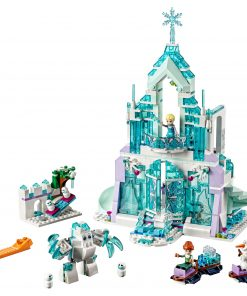 LEGO Disney Princess Elsa's Magical Ice Palace 43172 Toy Castle Building Kit (701 pieces)