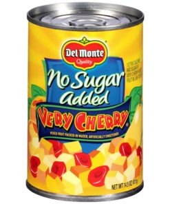 (6 Pack) Del Monte Very Cherry Mixed Fruit, 14.5 Oz