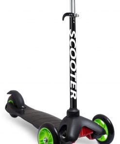 Den Haven Scooters for Kids Toddler Scooter – Deluxe Aluminum 3 Wheel Glider, Toddlers Training Three Wheeled Kid Ride on Toys Best for Little Boys & Girls