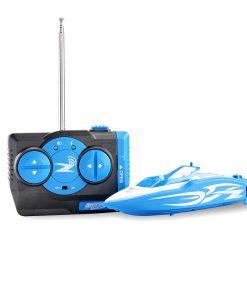 Adventure Force Radio-Controlled Mini Boat, Blue