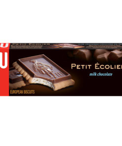Lu Petit Ecolier European Milk Chocolate Biscuit Cookies, 5.3 oz