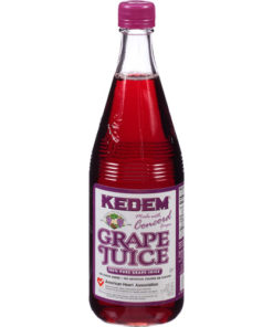 Kedem Concord Grape Juice, 22 fl oz, (Pack of 12)