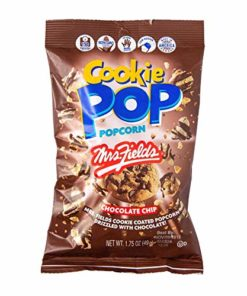 Candy Pop Flavored Popcorn, 1.75oz Bags (Chocolate Chip, Pack of 6)