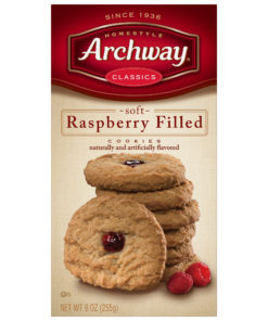 Archway Cookies, Raspberry Filled Classic Cookies, 9 Oz