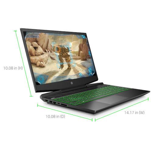 HP Pavilion Gaming Laptop 15.6″, Intel Core i5-9300H, NVIDIA GTX 1050 3GB, 8GB Memory, 256GB SSD,15-dk0051wm
