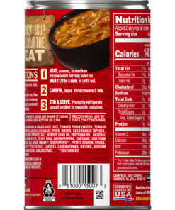 (4 Pack) Campbell's Chunky Grilled Chicken & Sausage Gumbo, 18.8 oz.