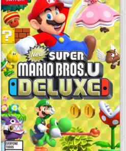 New Super Mario Bros U Deluxe, Nintendo, Nintendo Switch, 045496592691