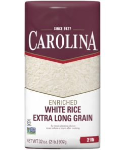 Carolina Long Grain Enriched White Rice, 2-Pound Bag