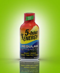 (12 Count) 5-hour ENERGY® Shot, Regular Strength, Citrus Lime, 1.93 oz
