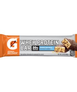 Gatorade Whey Protein Recover Bars, Cookies and Cream, 20g Protein, 12 Ct