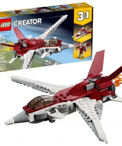 LEGO Creator 3in1 Futuristic Flyer STEM Jet Plane Building Set 31086