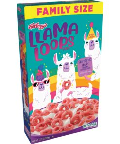 Kellogg's Llamaloops Berry Limited Edition Breakfast Cereal 12.3 oz