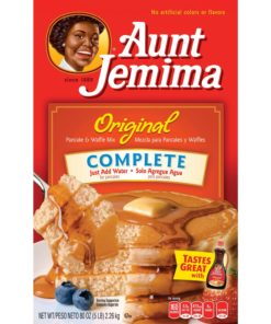 Aunt Jemima Original Complete Pancake & Waffle Mix, 80 oz Box