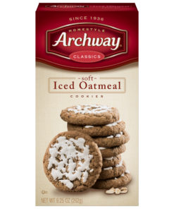 Archway Iced Oatmeal Soft Cookies, 9.25 Oz