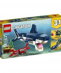 LEGO Creator 3in1 Deep Sea Creatures 31088 Sea Animal Toy Building Kit