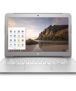Refurbished HP 14-ak040wm 14″ Chromebook, Chrome, Intel Celeron N2940 Processor, 4GB RAM, 16GB eMMC Drive