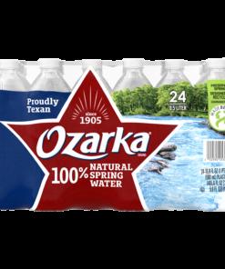OZARKA Brand 100% Natural Spring Water, 16.9-ounce plastic bottles (Pack of 24)