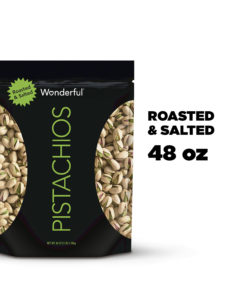 Wonderful Pistachios, Roasted & Salted, 48 Ounce Resealable Pouch