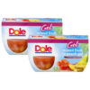 (2 Pack) Dole Fruit Bowls, Mixed Fruit in Peach Gel, 4.3 Ounce (4 Cups)